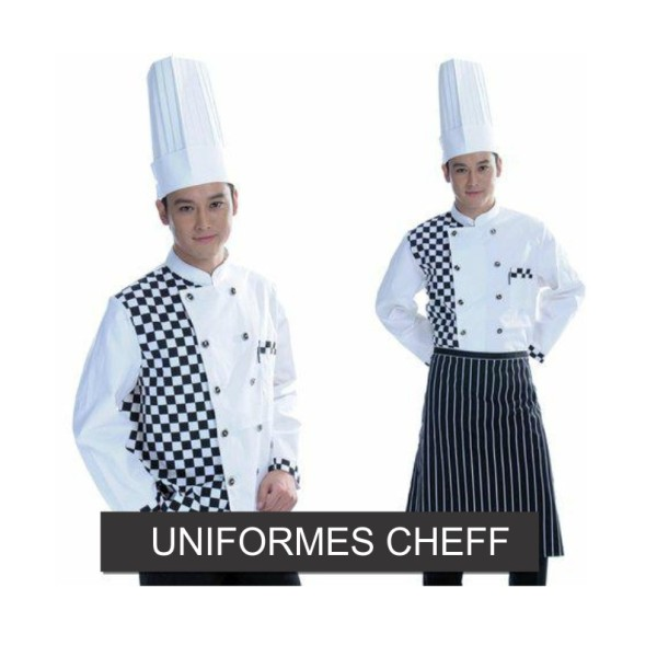 UNIFORMES DE CHEFF